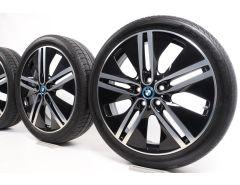BMW Velgen met Zomerbanden i3 I01 20 Inch Styling 430 Doppelspeiche