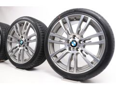BMW Sommerkompletträder 3er F30 F31 4er F32 F33 F36 19 Zoll Styling 403 Sternspeiche