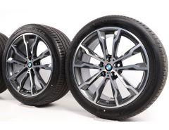 BMW Summer Wheels X3 G01 X4 G02 20 Inch Styling 699 M Doppelspeiche