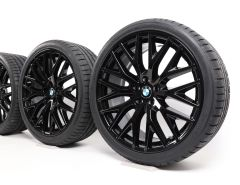 BMW Winter Wheels 5 Series G30 G31 20 Inch Styling 636 Kreuzspeiche