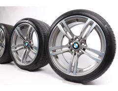 BMW Sommerkompletträder M3 F80 M4 F82 F83 19 Zoll Styling 437 M Doppelspeiche