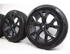 BMW Winterkompletträder X7 G07 21 Zoll Styling 752 Y-Speiche