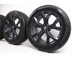 BMW Winter Wheels X7 G07 21 Inch Styling 752 Y-Speiche