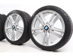 BMW Velgen met Zomerbanden 1 Serie F20 F21 2 Serie F22 F23 18 Inch Styling 386 M Sternspeiche