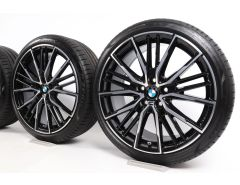 BMW Velgen met Zomerbanden 1 Serie F40 2 Serie F44 19 Inch Styling 552 M Doppelspeiche