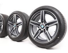 BMW Sommerkompletträder 1er F20 F21 2er F22 F23 17 Zoll Styling 379 Sternspeiche
