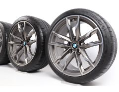 BMW Velgen met Zomerbanden Z4 G29 19 Inch Styling 800 M Doppelspeiche