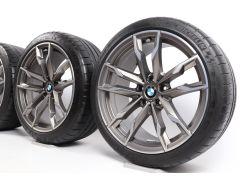 BMW Velgen met Zomerbanden Z4 G29 19 Inch Styling 800 M Dubbelspaak
