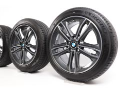 BMW Sommerkompletträder 1er F40 2er F44 17 Zoll Styling 549 Doppelspeiche