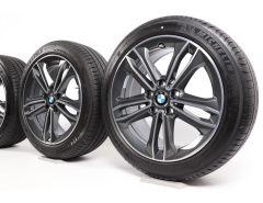 BMW Winterkompletträder 1er F40 2er F44 17 Zoll Styling 549 Doppelspeiche