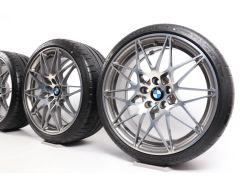 BMW Sommerkompletträder M3 F80 M4 F82 F83 20 Zoll Styling 666 M Sternspeiche