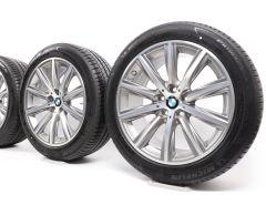 BMW Sommerkompletträder 5er G30 G31 18 Zoll Styling 684 V-Speiche