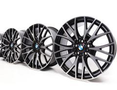 4x BMW Alufelgen 3er F30 F31 4er F32 F33 F36 20 Zoll Styling 404