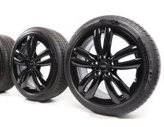 MINI Summer Wheels F55 F56 F57 17 Inch Styling JCW Track Spoke 501