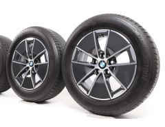 BMW Sommerkompletträder 3er G20 G21 16 Zoll Styling 773 Turbinenstyling