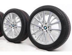 BMW Sommerkompletträder 5er G30 G31 18 Zoll Styling 643 W-Speiche