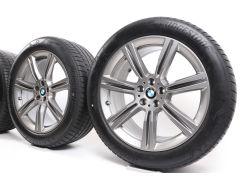 BMW Velgen met Zomerbanden X5 G05 X6 G06 20 Inch Styling 736 Sternspeiche