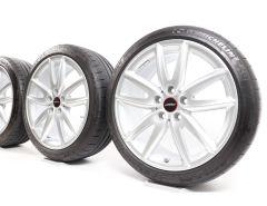 MINI Summer Wheels F54 Clubman 18 Inch Styling JCW Grip Spoke 815