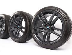 BMW Velgen met Winterbanden X5M F95 X6M F96 21 Inch Styling 808 M Dubbelspaak