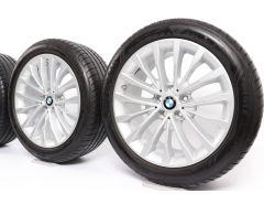 BMW Sommerkompletträder 5er G30 G31 18 Zoll Styling 632 W-Speiche