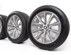 BMW Winter Wheels 6 Series G32 7 Series G11 G12 18 Inch Styling 684 V-Speiche