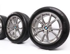 BMW Sommerkompletträder 3er G20 G21 17 Zoll Styling 776 V-Speiche