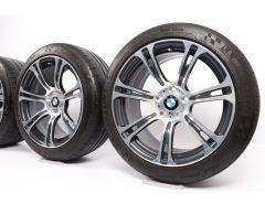 BMW Velgen met Zomerbanden M6 F06 F12 F13 19 Inch Styling 344 M Sternspeiche