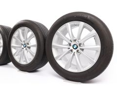 BMW Ganzjahresräder 6er G32 7er G11 G12 18 Zoll Styling 642 V-Speiche