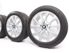 BMW Velgen met Zomerbanden X5 F15 19 Inch Styling 450 V-Speiche