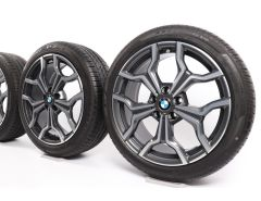 BMW Summer Wheels X1 F48 X2 F39 19 Inch Styling 722 Y-Speiche