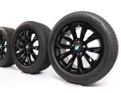BMW Velgen met Winterbanden X3 F25 X4 F26 18 Inch Styling 307 V-spaak