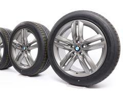 BMW Velgen met Winterbanden X1 F48 X2 F39 18 Inch Styling 570 M Dubbelspaak