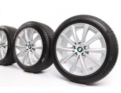 BMW Sommerkompletträder 5er G30 G31 8er G14 G15 G16 18 Zoll Styling 642 V-Speiche