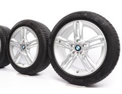 BMW Winter Wheels 2 Series F45 F46 17 Inch Styling 483 M Doppelspeiche