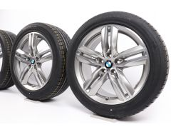 BMW Sommerkompletträder X1 F48 X2 F39 18 Zoll Styling 570 M Doppelspeiche
