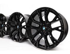 4x BMW Alufelgen X5M F95 X6M F96 21 Zoll 22 Zoll Styling 809