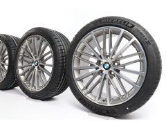 BMW Velgen met Zomerbanden 5 Serie G30 G31 19 Inch Styling 635 V-Speiche