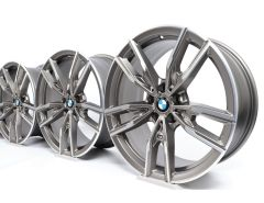 BMW Alloy Rims 3 Series G20 G21 19 Inch Styling 792 M Doppelspeiche