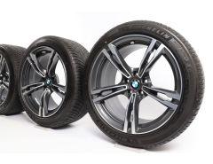 BMW Velgen met Winterbanden M5 F90 19 Inch Styling 705 M Dubbelspaak