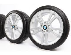 BMW Velgen met Winterbanden 1 Serie F20 F21 2 Serie F22 F23 18 Inch Styling 385 Doppelspeiche