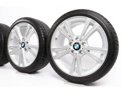 BMW Winter Wheels 1 Series F20 F21 2 Series F22 F23 18 Inch Styling 385 Double-Spoke