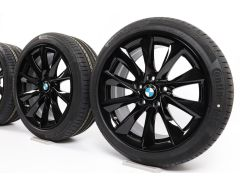BMW Summer Wheels 3 Series F30 F31 4 Series F32 F33 F36 18 Inch Styling 415 Turbine-spoke