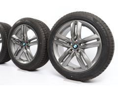 BMW Winterkompletträder X1 F48 X2 F39 18 Zoll Styling 570 M Doppelspeiche