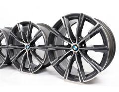BMW Alufelgen X5 G05 X6 G06 20 Zoll Styling 740 M Sternspeiche