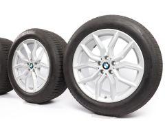 BMW Ganzjahresräder X5 G05 X6 G06 19 Zoll Styling 734 V-Speiche