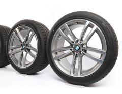 BMW Velgen met Zomerbanden 6 Serie G32 7 Serie G11 G12 19 Inch Styling 647 M Doppelspeiche