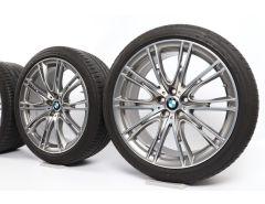 BMW Velgen met Winterbanden 6 Serie G32 7 Serie G11 G12 20 Inch Styling 649 V-Speiche
