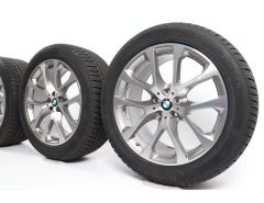 BMW Winter Wheels X5 G05 X6 G06 20 Inch Styling 738 V-Speiche