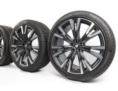 BMW Winter Wheels X7 G07 22 Inch Styling 756 Y-Speiche