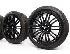 BMW Winterkompletträder 5er G30 G31 19 Zoll Styling 664 M Doppelspeiche